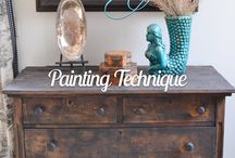 Distressed Painting