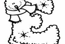 sneeuwman letters