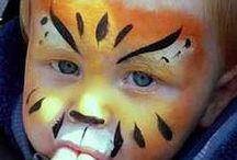 Maquillage enfant / Réalisation de maquillage pour les enfants.