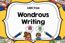Wondrous Writing / Resources, Activities, Lessons, and Ideas for Teachers and Parents about Writing