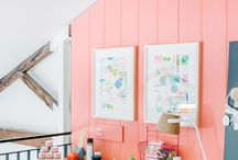 Book nooks, work spaces and cool places