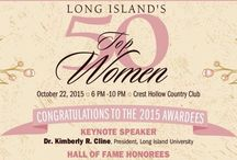 Long Island's Top 50 Women / Honoring exceptional business and community leaders / by Long Island Business News