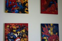 quantae's AVENGERS bedroom