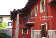 Pitture esterne / La protezione delle facciate esterne per una abitazione...e' vitale!