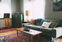1950's retro loungeroom