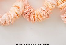 Coffee Filters & Crafts