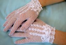 Lace Gloves by The Crystal Slipper / by FairyTale Shoes Victoria Clayton