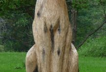 Art - Chainsaw / Chainsaw Art / by Rae Ann Kressin