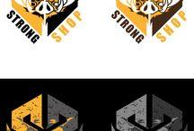 My logos / Logos made by me.