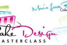 Cake Design Masterclass / Dolci e decorazioni #pasta di zucchero  #sugar paste #cake design