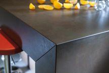 Bänkskivor Dekton / Bänkskivor i Dekton som passar till olika kök bl a Ikea.