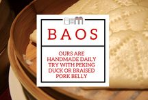 B A O S / We love them and handmade them daily for our customers. You can eat ours with Peking Duck or Pork Belly - how do you eat yours? www.shikumen.co.uk
