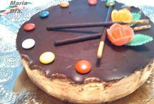 Tartas Estupendas / Bocados lujuriosos elaborados por mi!!