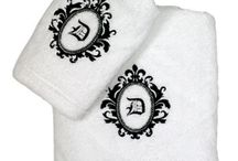 Bathroom Bliss / The Ultimate Place to Personalize with Luxurious Linens and Lighting. / by Luxury Monograms
