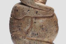 Africanus / Pinturas, máscaras e ídolos de culturas prehistóricas