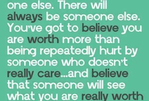 Quotes I like! / My life in a nutshell