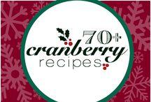 Cranberries...