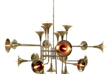 Lamper / Vakre lamper til vegger, tak og gulv.