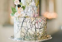 Wedding Cakes / Wedding cakes are such a work of art today. They just can't taste good - but they must look good too!