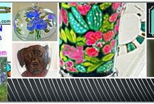 Clearly Susan's Blog Posts / Clearly Susan's hand painted glassware blog posts on new products and new releases