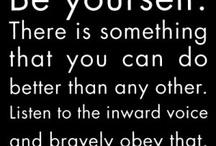 Wise words / by Angela van der Veer