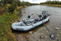Fishing, Boat / River raft
