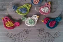 Crochet appliqué! / Everything can be crocheted as appliqué! ;)
