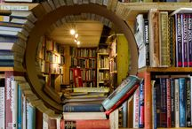 Libraries and Bookshelves We Want to Get Lost In / Is there any better place to escape to, and get lost in, but a library?