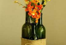 decoraçao garrafas