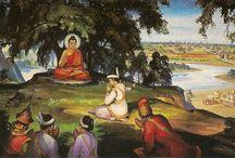 Buddha élete / Bimbiszára látogatása