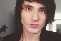 "Crushes ~ Denis Stoff / Now that Denis is Asking Alexandria's lead singer, I feel the need to ""see"" him as the leading man in one of my books.  I know just which one...but I'm not ready to write it yet.  I *am*, however, ready to pin his pic all over Pinterest!  :)"