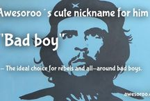 Cute Nicknames / The best collection of nicknames for your loved one.
