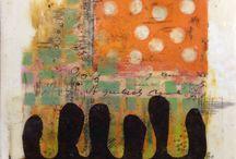 painting | encaustic art / inspirational encaustic painting, technics, etc