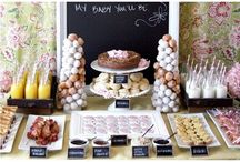 Party // Showers / Gorgeous ideas for bridal and baby showers