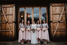 Bridesmaids dresses / Beautiful dresses perfect for the bride tribe