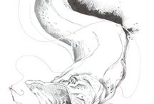 #graphique - #tattoo - #drawing - #print / #dessins #Zeichnen #drawing #encre #crayon