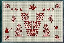 Keresztszemes hímzés - Cross stitch