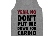 Workout shirts to make / by Carly Peterson