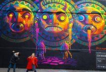 Art de rue, murales et graffitis