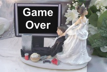 Gaming Geek Wedding Seating Plans / For more wedding ideas on a gaming theme, see our blog at http://www.toptableplanner.com/blog/gaming-geek-chic-wedding-table-plans