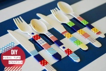 DIY - washi tape / by Peggy Corliss