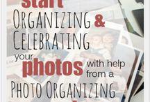 photos - l'organisation des photos