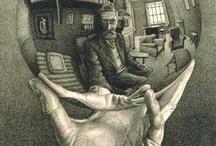 Dibujos M.C. Escher