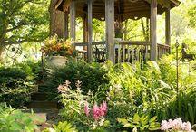 tuinhuis / diverse tuinhuisjes en overkappingen