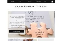 www.abercrombiecumbes.co.uk / Hand stamped gifts and silver jewellery. Made in the UK