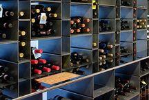 Vinkjeller og vinlagring / Interiør og vin