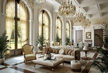 living room (modern classic/vintage)