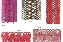 Crochet con tenedor