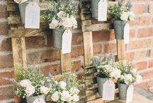 Table plans and place cards with a difference