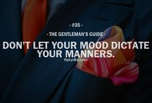 Gentlement guide